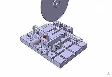 Dispozitiv tăiere carcase injectoare